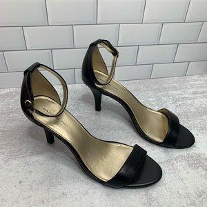 Bandolino Shoes - Bandolino Black 'Madia' Ankle Strap Sandal